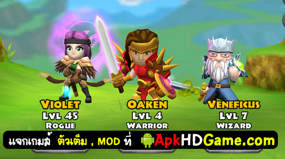 โกง Dungeonquest‬ Mod Unlimited money .apk