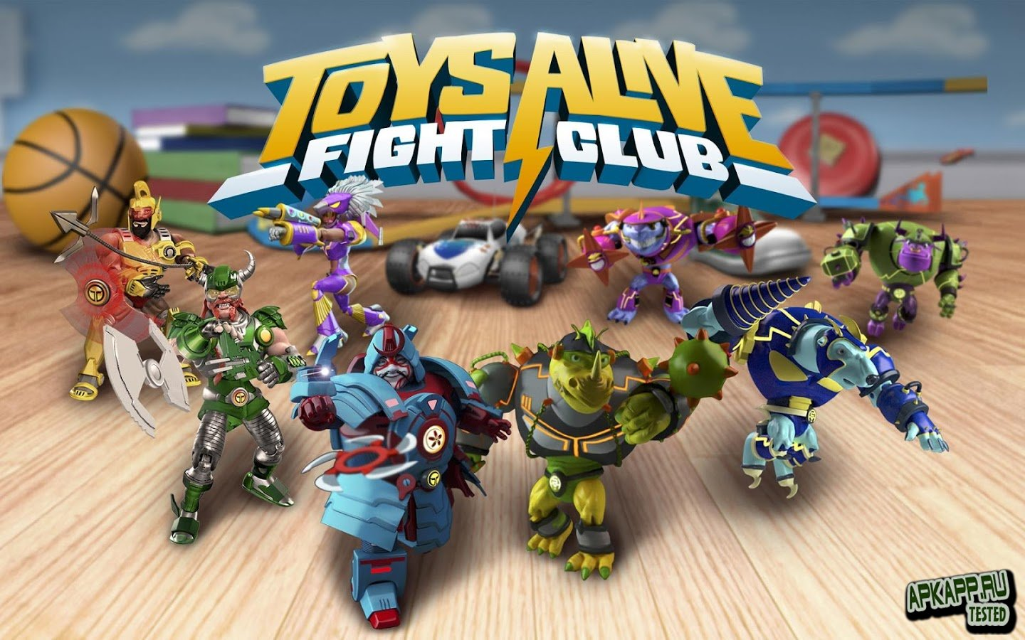 Toys Alive: Fight Club v1.01.19 Apk +Mod Unlimited Coins and Gems