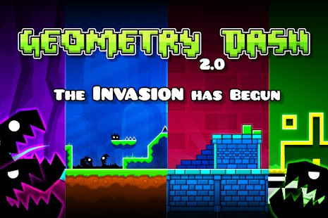 Screenshot Geometry Dash