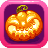 Icon Halloween Town Bubble Shooter