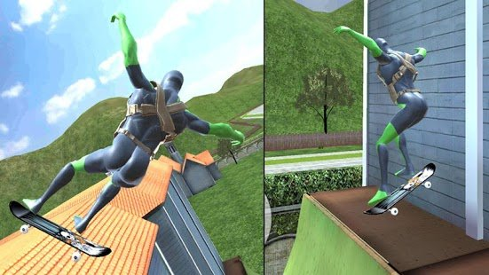 Screenshot Rope Frog Ninja Hero - Strange Gangster Vegas