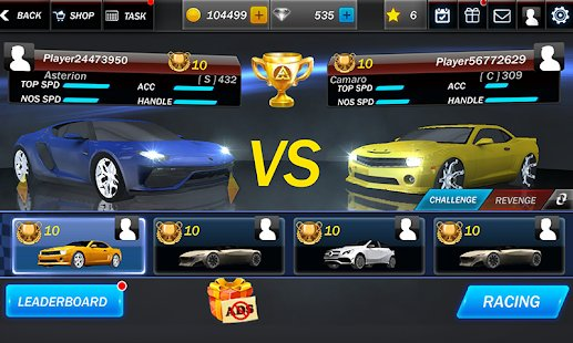 Screenshot Street Racing 3D