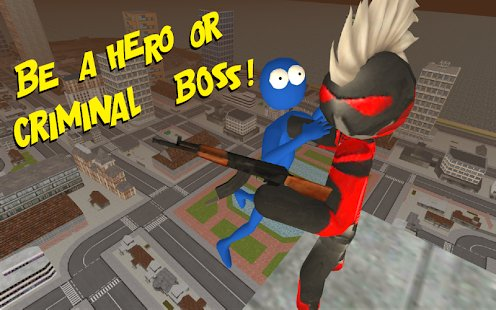 Screenshot Stickman Rope Hero