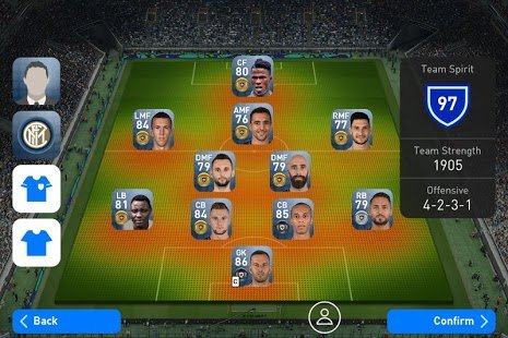 Screenshot PES 2020