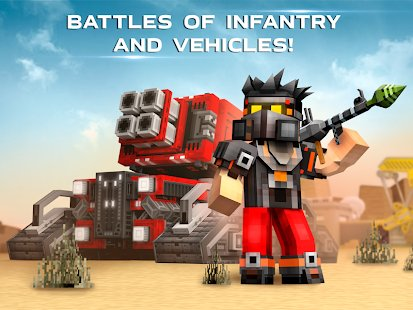 Screenshot Blocky Cars - Online Shooting Games