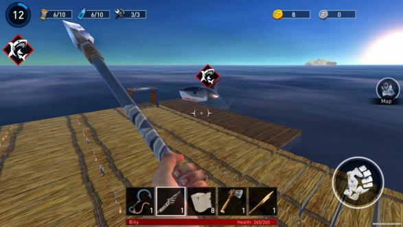 Screenshot Ocean Nomad: Survival on Raft