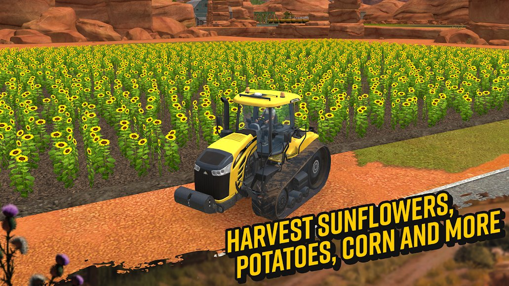 Download Farming Simulator 18 APK + DATA (MOD Money) for Android