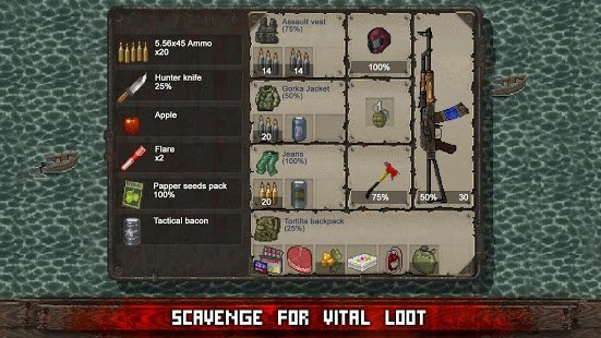 Screenshot Mini DAYZ: Zombie Survival