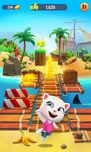Screenshot Talking Tom Gold Run
