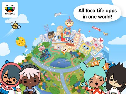 Screenshot Toca Life: World