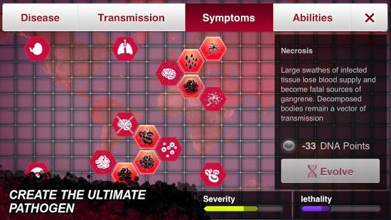 Screenshot Plague Inc.