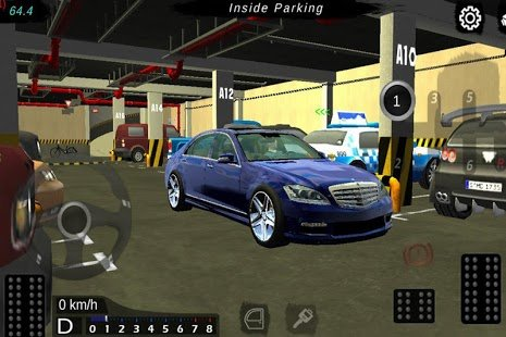 Screenshot Manual gearbox Car parking