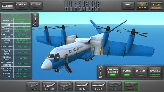 Screenshot Turboprop Flight Simulator 3D