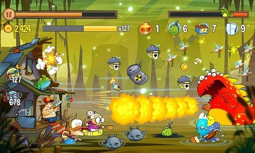 Screenshot Swamp Attack