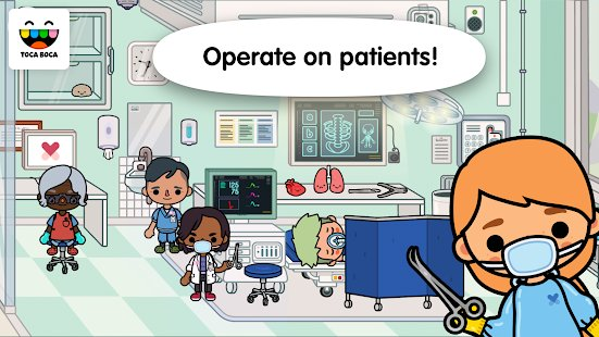 Screenshot Toca Life: Hospital