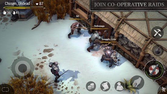 Screenshot Frostborn