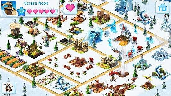 Screenshot Ice Age Village