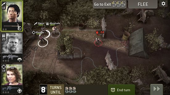 Screenshot The Walking Dead No Man's Land