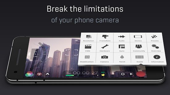 Screenshot FiLMiC Pro: Professional HD Manual Video Camera