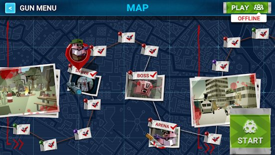 Screenshot The Walking Zombie: Dead City